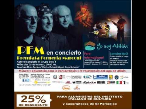 Premiata Forneria Marconi (PFM) Live in Guatemala City 03-26-14