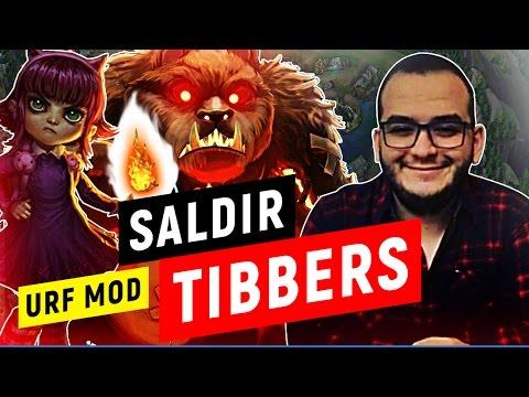 SALDIR TİBBERS - URF MODU ANNİE