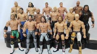 BEST CUSTOM WWE FIGURES BATCH EVER Wrestlemania 34 Elites  NJPW