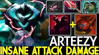 Arteezy [Chaos Knight] Monster Late Game Insane Attack Damage 7.21 Dota 2