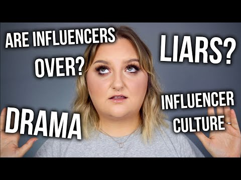 LETS TALK ABOUT INFLUENCERS.. IS THE BUBBLE BURSTING? COLLAB WITH SMOKEY GLOW