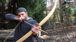 How to Shoot a Bow Ishi Style (HD)