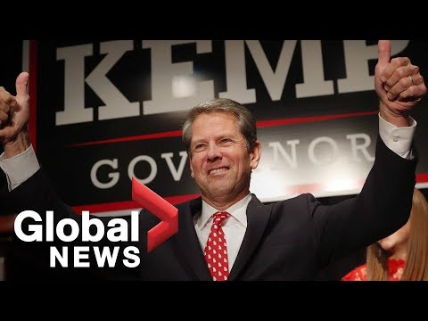 Brian Kemp speaks about about Georgia gubernatorial race
