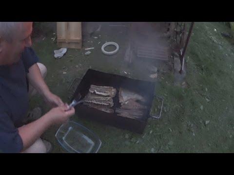 Как коптить рыбу правильно, Коптильня своими руками, Коптим рыбу скумбрию, окуня, угря.