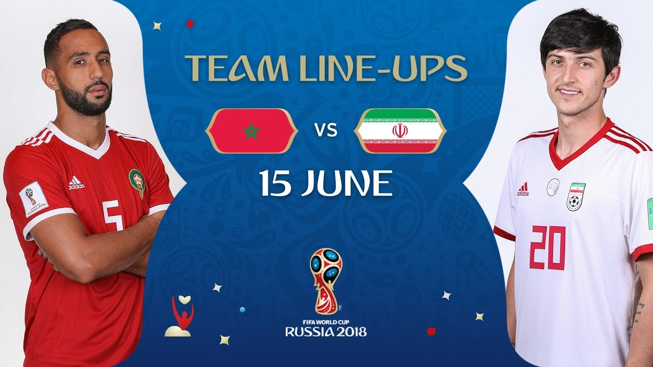 8672f3cf4 LINEUPS – Morocco v Iran - MATCH 4   2018 FIFA World Cup™ - YouTube