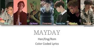 Got7 - Mayday  Color Coded Han|rom|eng