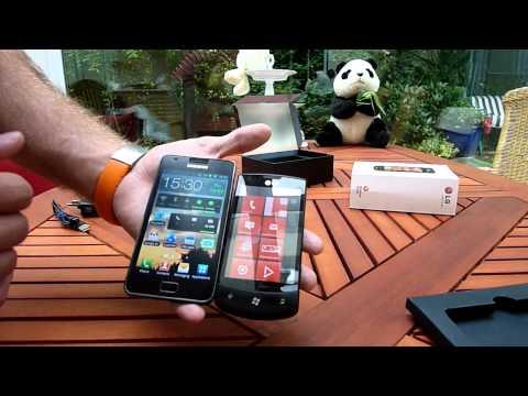 LG Optimus 7 E900 Unboxing - Deutsch
