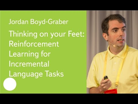 Thinking on your Feet: Reinforcement Learning for Incremental Language Tasks