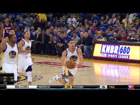 Warriors 2014-15 Season: Game 2 vs. Lakers