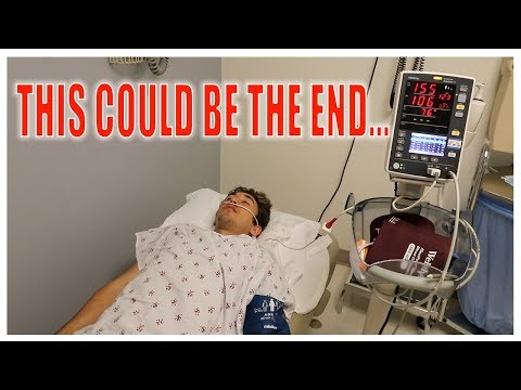 I WAS ADMITTED TO THE HOSPITAL... (goodbye)