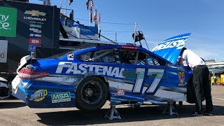 Фото с обложки Stenhouse Clips Wall, No. 17 Moves To Backup Car
