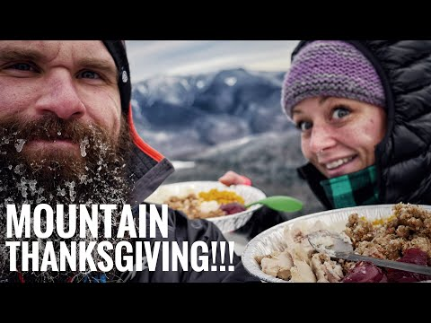Thanksgiving at 4300 Feet | Hiking New Hampshire | North Kinsman Winter Conditions