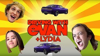 ALL Episodes of DRIVING with EVAN (+ Driving w LYDIA)