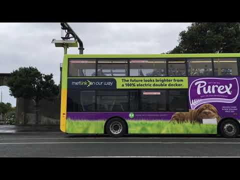 Wellington City Electric Bus