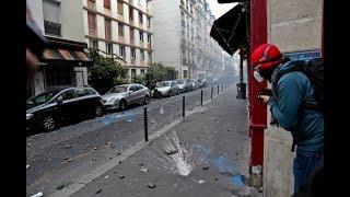 Paris : rentrée agitée contre la réforme du travail