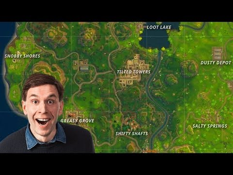 Fortnite Battle Royale New Map Points Of Interest Discussion