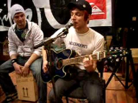 Itchy Poopzkid - Breathing (unplugged @ Quiksilver Store Berlin) mp3