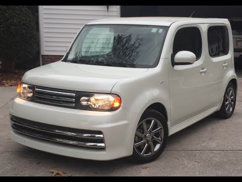 My 2010 Nissan Cube Krom Youtube