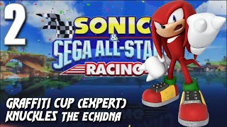 Sonic and Sega All-Stars Racing - Graffiti Cup (Knuckles)