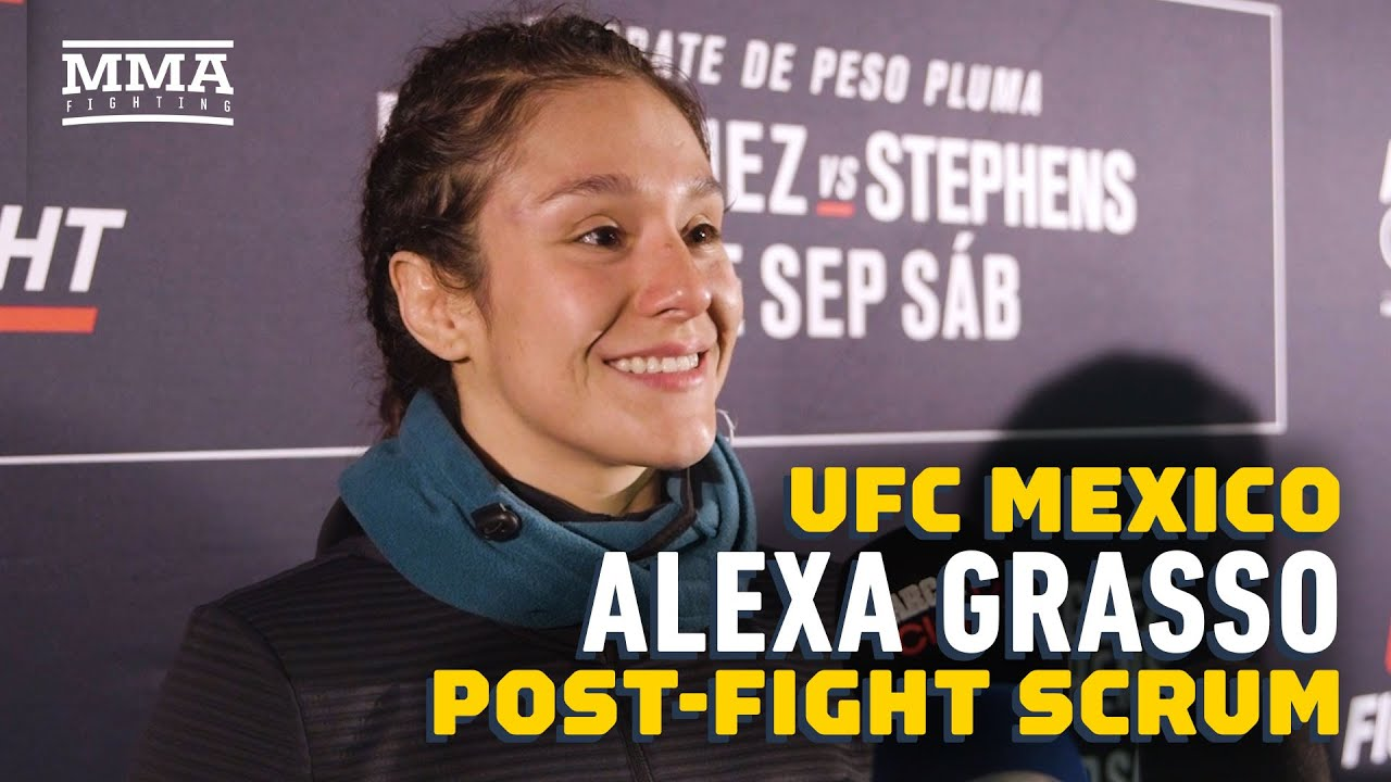 UFC Mexico: Alexa Grasso: 'In My Heart, I Won' Against Carla Esparza - MMA Fighting