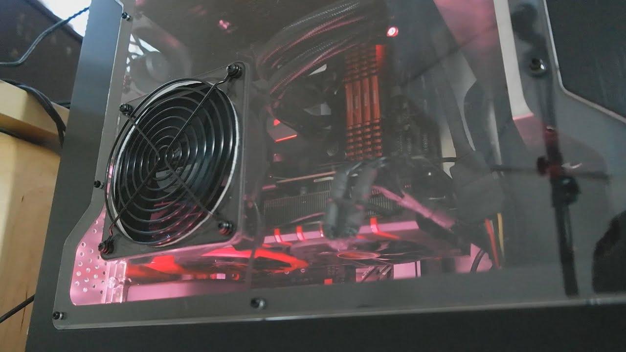 Side Panel Fan Case Mod To My Lian Li Pc-65b
