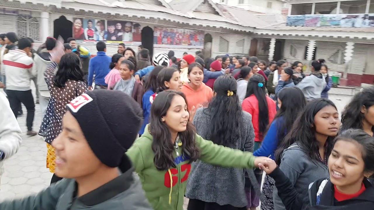 Download Students of Samata dancing in Bhanau Nabhanau by Ajay Adhikari Sushil
