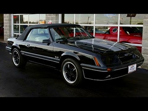 1986 Ford Mustang GT 5.0 V8 Five-Speed Convertible