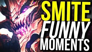 INSTANT TRANSMISSION KUZENBO! (Smite Funny Moments)