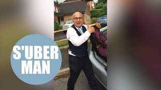 Uber driver goes to extreme lengths to get five-stars