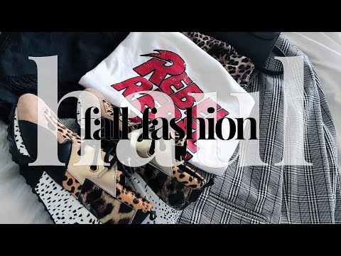 HAUL |  Festival/Fall Fashion Try-On Haul | Topshop, Steve Madden, Nasty Gal, etc.