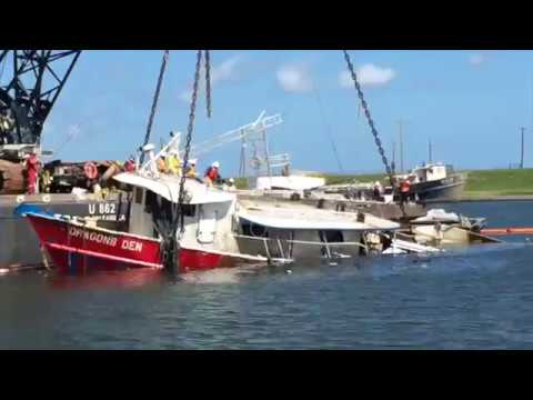 Global Diving & Salvage - Time elapse of refloating F/V Dragon's Den