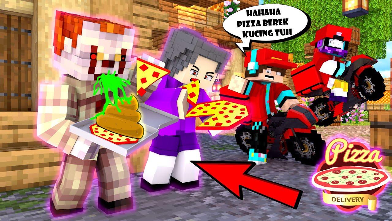 ANIMASI 99 JAM JADI TUKANG PIZZA MISQUEEN ! BOCHIL ANTAR PIZZA KE KUBURAN NENEK BADUT GILE !