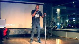 Taurus Whitehead HITS the stage (HILARIOUS MUST WATCH)
