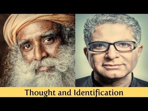 🕉😀 Sadhguru and Deepak Chopra:  Thought and Identification (GER sub/deutsche Untertitel)