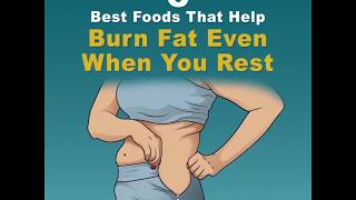 Most Effective Fat Burning Foods and Exercises