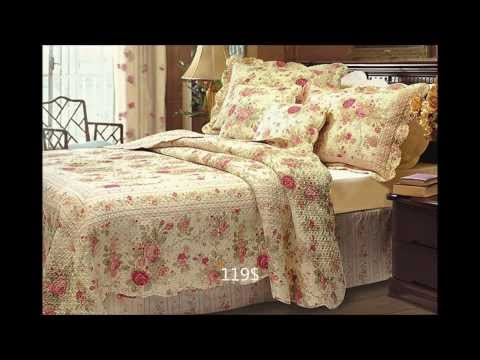10 floral bedding sets- floral quilt sets available on Amazon.com