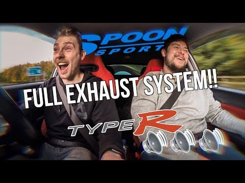 Reacting To My NEW Civic Type R EP3 Exhaust System (Revs + VTEC!!)