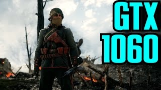 Battlefield 1 GTX 1060 6GB OC & i7 6700k (Multiplayer) 1080p Ultra Preset | FRAME-RATE TEST