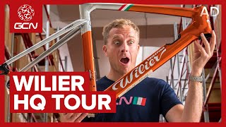 Italian Super Bike Heritage & Innovation: Wilier Triestina HQ Tour