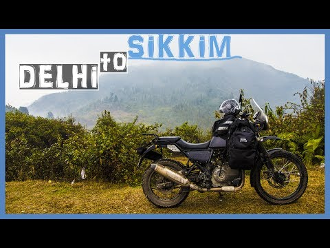 DELHI TO SIKKIM - DAY 2 Crossing Uttar Pradesh