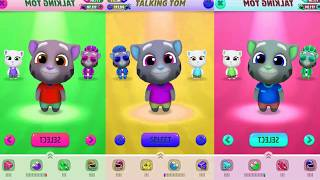 Talking Tom Gold Run Colored Gameplay