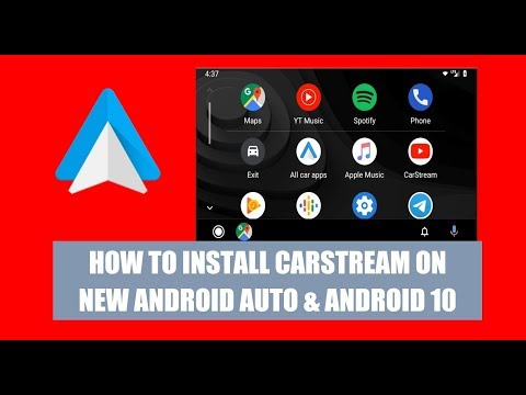 How To Install CarStream On The New Android Auto With Android 10