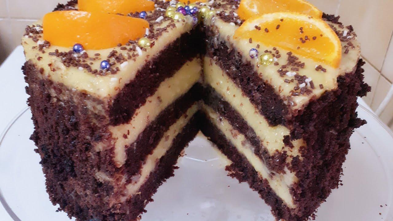 ,,Tortul Mamei,, este de post cu gust de portocala ,foarte gustos si repede se face