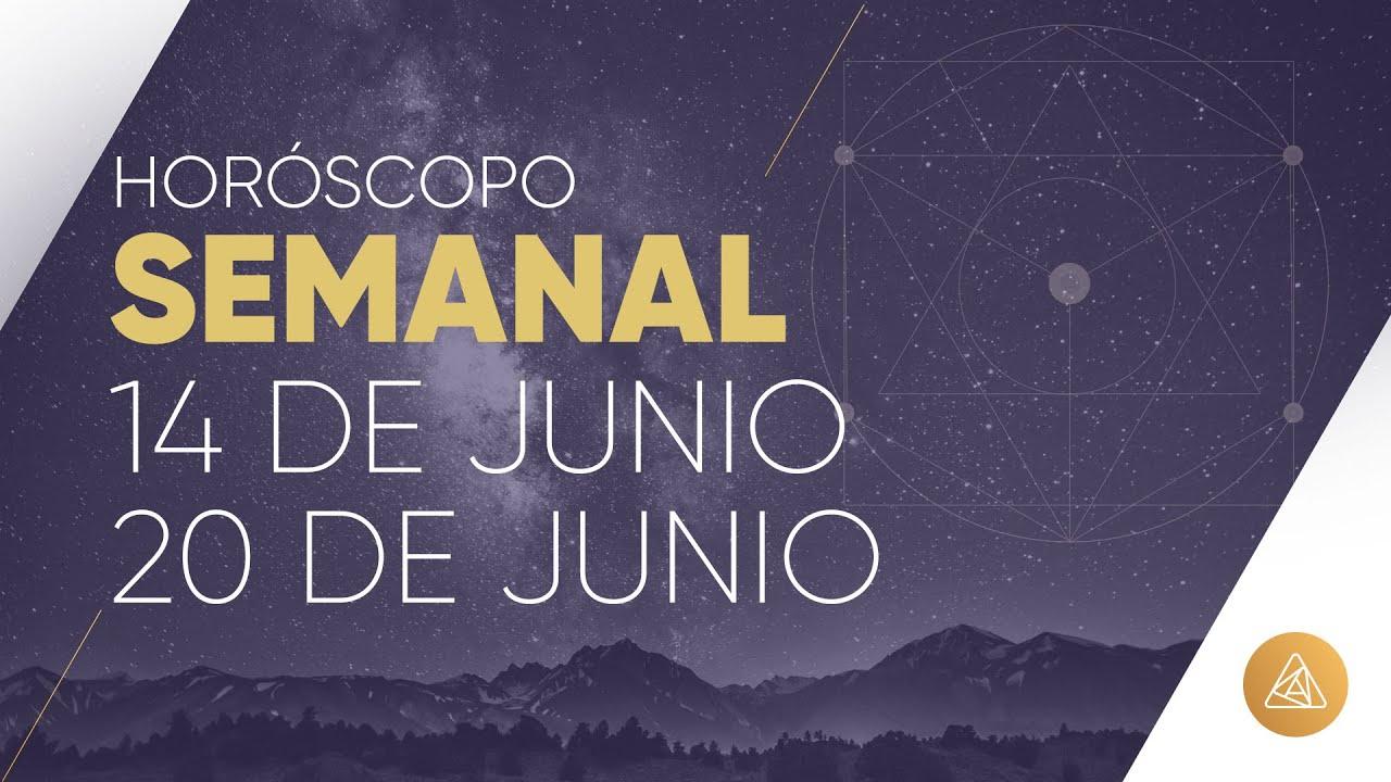 HOROSCOPO SEMANAL | 14 AL 20 DE JUNIO | ALFONSO LEÓN ARQUITECTO DE SUEÑOS