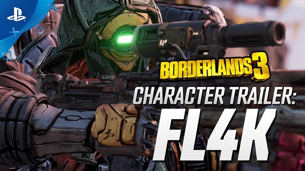 "Borderlands 3 - FL4K Character Trailer: ""The Hunt"" 