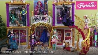 Barbie Visit Descendants in Auradon Prep School Story with Barbie and Ken, Descendants Mal and Evie