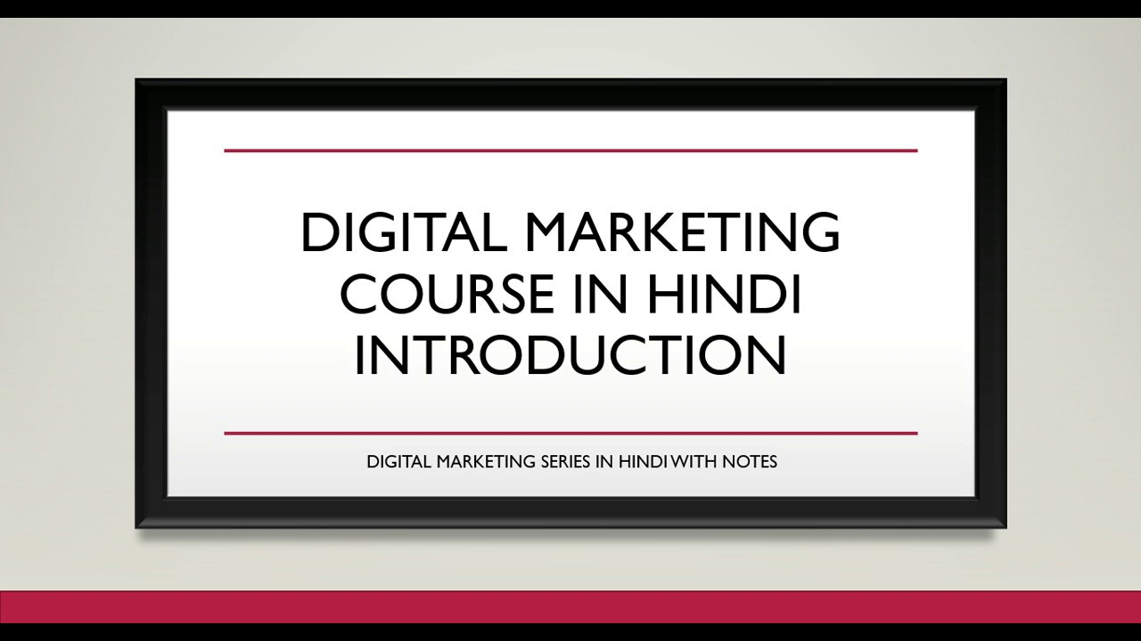 Which digital marketing course should you take to boost your marketing skills, absolutely free of charge? Best Digital Marketing Course Online - YouTube