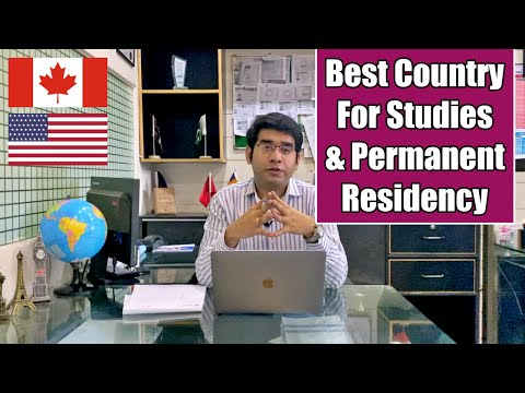 Best Country To Get Permanent Residency & Passport | After Studies | Education | USA | Canada | UK
