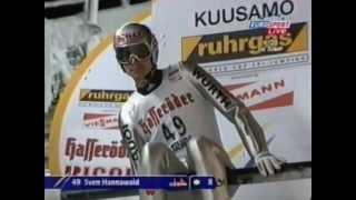 Fis ski jumping 2002/2003kuusamo (fin) hs-142 i roundsven hannawald (ger) 105msłaby początek sezonu hanniego