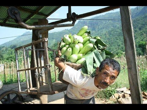 Gravity Goods Ropeway in Nepal
